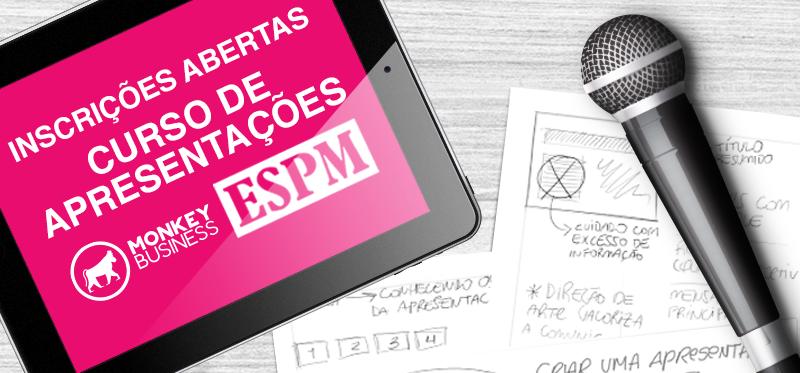 Curso Apresentação: Uso, Forma e Conteúdo na ESPM