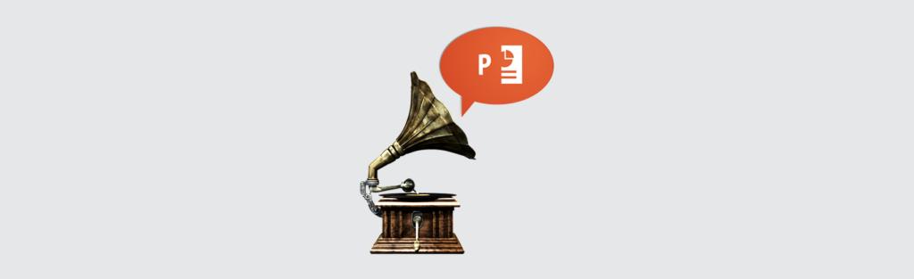 Qual é a trilha sonora da sua apresentação?